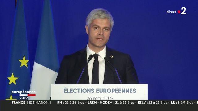 """Emmanuel Macron a été """"l'artisan de la progression"""" du RN, selon Laurent Wauquiez"""