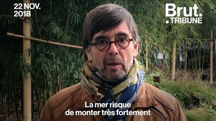 VIDEO. Damien Carême, le maire de Grande-Synthe attaque l'État pour son inaction en matière de lutte contre le réchauffement climatique. Voici sa tribune. (BRUT)