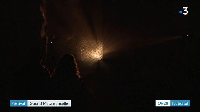 Metz : le festival Constellations met en lumière la cité lorraine