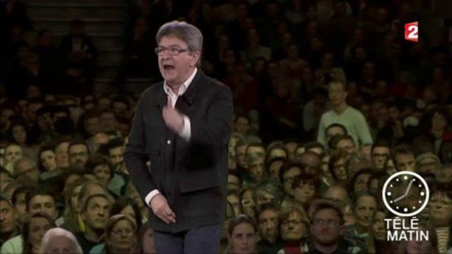 """Jean-Luc Mélenchon : """"Si vous élisez l'un de ces trois-là, vous allez cracher du sang"""""""
