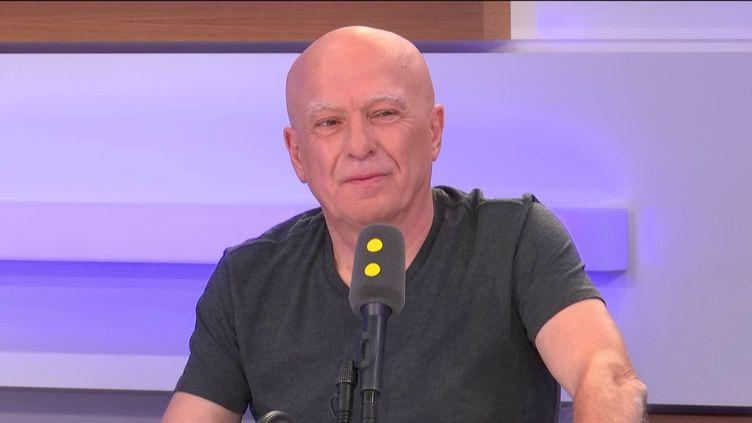 Fabrice Nicolino, journaliste, le 11 septembre 2019 sur franceinfo. (FRANCEINFO / RADIOFRANCE)
