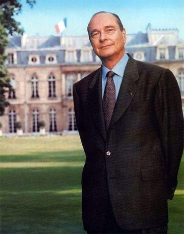 Jacques Chirac  (Bettina Rheims)