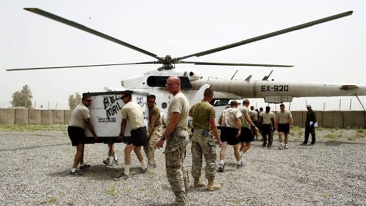 Des soldats américains à Kandahar (AFP)