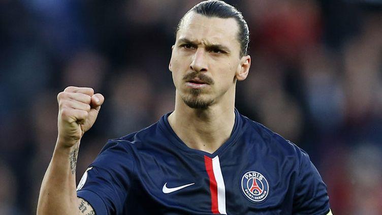 (Les propos de Zlatan Ibrahimovic, ici après un second but marqué contre Chelsea le 7 mars, étudiés par la LFP jeudi © MaxPPP)