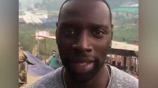 L'acteur Omar Sy a posté une vidéo depuis un camp de réfugiés rohingyas, au Bangladesh. (OMAR SY)