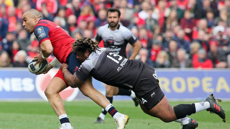 Le Munster élimine Toulon dans les dernières minutes. (PAUL FAITH / AFP)
