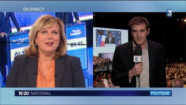Primaire de la droite : Alain Juppé en meeting à Lille