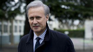 George Tron, le 29 mars 2015, à Draveil (Essonne). (KENZO TRIBOUILLARD / AFP)