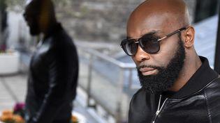 Le rappeur Kaaris, le 25 mars 2015 à Paris. (DOMINIQUE FAGET / AFP)