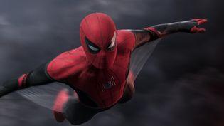 Le catalogue de films de Sony comprend des films passés et à venir se déroulant dans les univers Marvel, commeSpider-Man.L'homme-araignéeest désormais joué par Tom Holland (ici dansSpider Man : Far From Homesorti en juillet 2019). (SONY PICTURES)