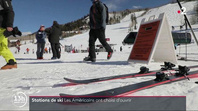 Sports d'hiver : les Américains ont choisi d'ouvrir leurs stations de ski