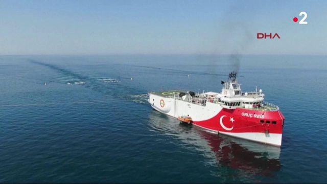 Tensions en méditerranée entre la Grèce et la Turquie