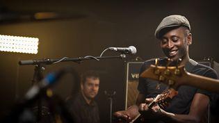 Keziah Jones aux Nova Sessions  (2013 B. Barnéoud)
