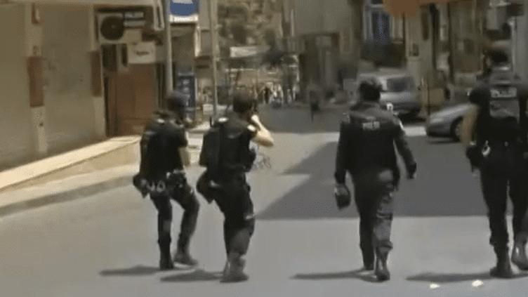 22 mai 2014 Istanbul affrontements entre policiers et manifestants (EVN / FRANCETV INFO)