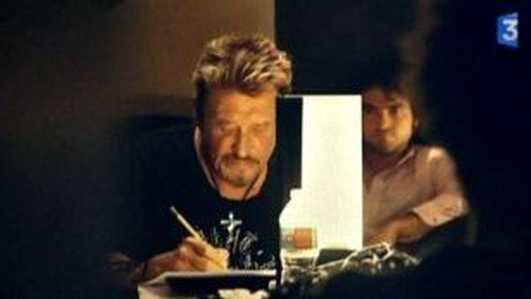 "Johnny Hallyday : confidences d'un chanteur ""Jamais seul""  (Culturebox)"
