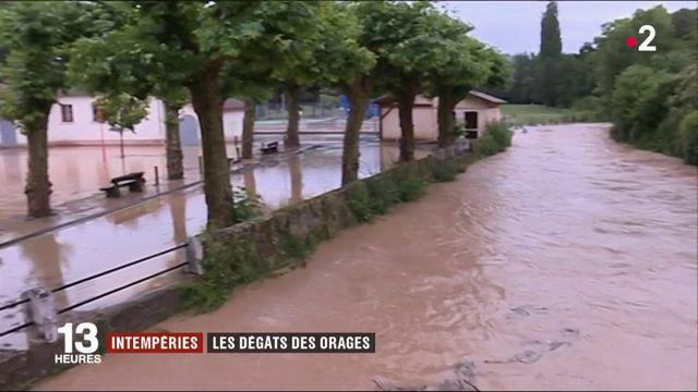 Intempéries : de violents orages et de la grêle dans une partie de la France