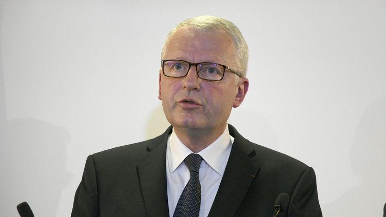 Rémy Heitz, procureur de la République de Paris, le 25 mai 2019 en conférence de presse à Lyon. (JOEL PHILIPPON / MAXPPP)
