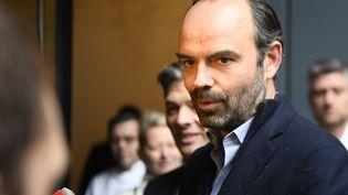 Edouard Philippe à Paris, le 18 mars 2018. (FRANCOIS PAULETTO / CROWDSPARK / AFP)