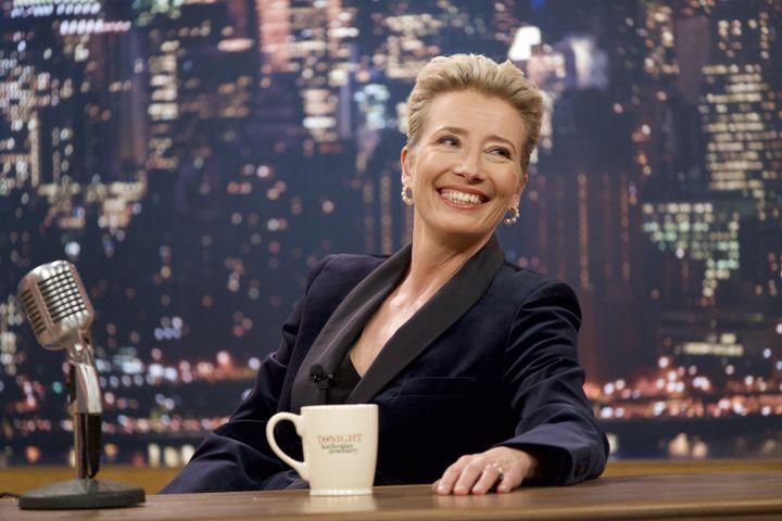 "Emma Thomson dans ""Late Night"", deNisha Ganatra, août 2019 (EMILY ARAGONES)"