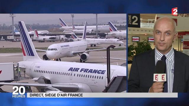 """Lynchage à Air France : """"les agresseurs n'ont pas été identifiés"""""""