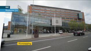 Un centre hospitalier en Irlande. (franceinfo)