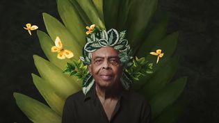 """Gilberto Gil dans le clip """"Refloresta"""" dévoilé le 22 février 2021 (Gilberto Gil / Capture image Youtube)"""