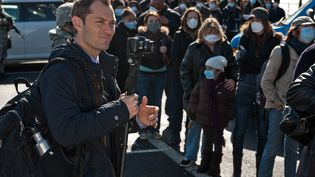"Une image prémonitoire de ""Contagion"", un film de Steven Soderbergh (2011) (© Warner Bros. France)"