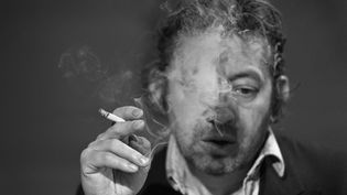 Serge Gainsbourg, 11 mars 1948. (PHILIPPE WOJAZER / AFP)