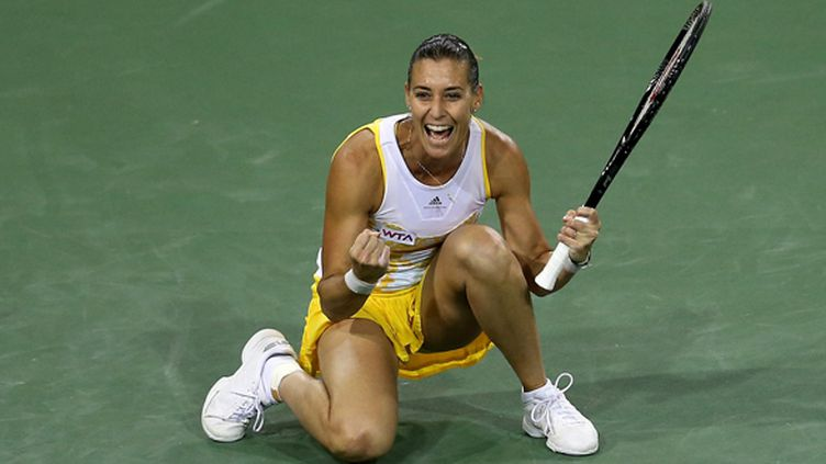 Flavia Pennetta (STEPHEN DUNN / GETTY IMAGES NORTH AMERICA)