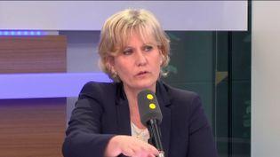 Nadine Morano, invitée de franceinfo, le 4 mai 2017 (RADIO FRANCE / FRANCEINFO)