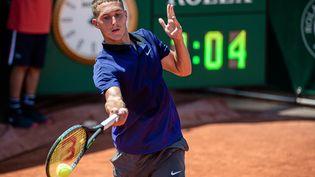 Le Français Sean Cuenin, en demi-finale de Roland-Garros juniors 2021. (CHINE NOUVELLE/SIPA / XINHUA)