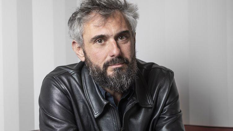 Le romancier Christophe Perruchas, 2021 (JULIE BALAGUE)