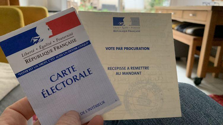 Vote par procuration lors des élections municipales le 11 mars 2020 (illustration) (LP/ AURELIE AUDUREAU / MAXPPP)