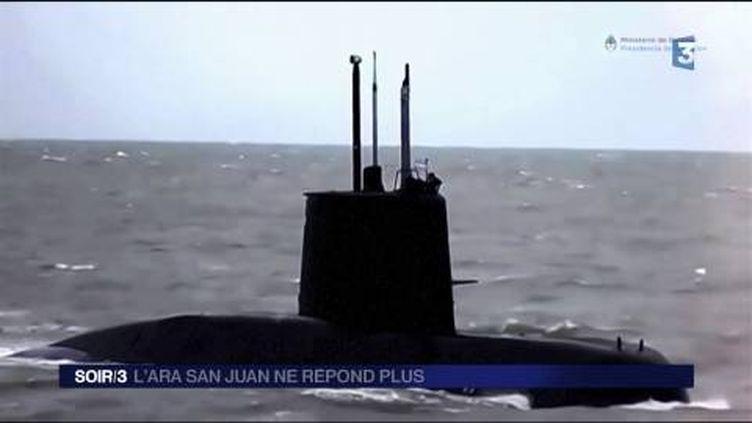 Le sous-marin Ara San Juan ne communique plus avec la terre. (FRANCE 3)