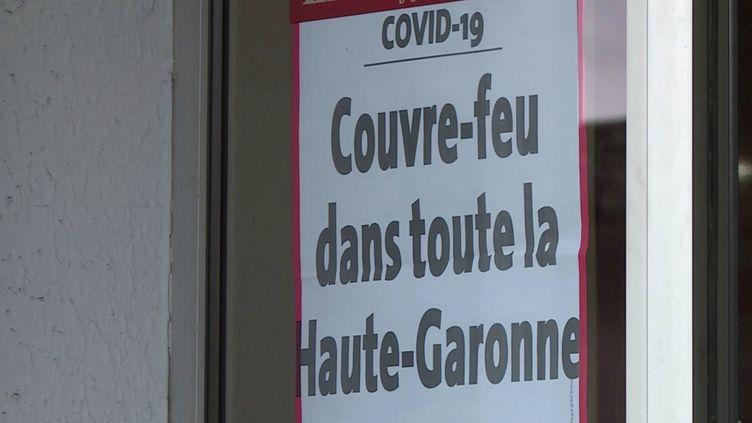 Couvre-feu en Haute-Garonne (FRANCE 3)