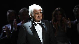 Jean-Paul Belmondo lors de la cérémonie des Césars 2017.  (Bertrand GUAY / AFP)