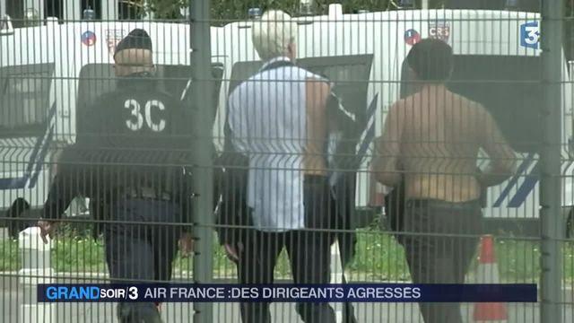 Agression inédite chez Air France