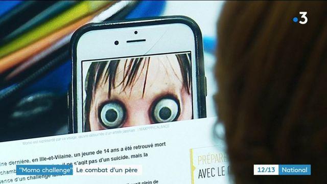 """""""Momo challenge"""" : le combat d'un père contre ce jeu macabre sur les réseaux sociaux"""
