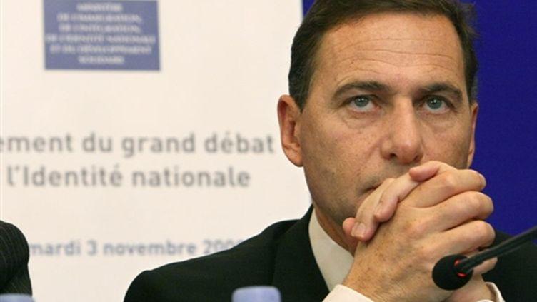 Eric Besson, ministre de l'Immigration et de l'Identité nationale (© AFP/THOMAS COEX)