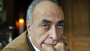 Ziad Takieddine lors d'une conférence de presse, le 18 octobre 2012 à Paris. (MEHDI FEDOUACH / AFP)