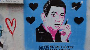 Fresque sur la façade de la maison deSerge Gainsbourg, rue de Verneuil, Paris (HUGHES HERVE / HEMIS.FR / HEMIS.FR)