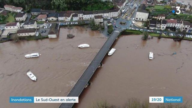 Inondation : le Sud-Ouest est toujours en alerte