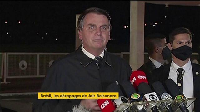 Brésil : Jair Bolsonaro dérape