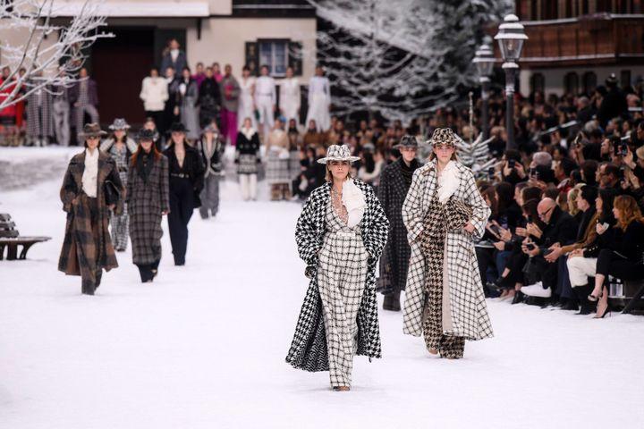 Chanel ah 2019-20 à Paris, mars 2019  (David Fisher/REX/Shutterstock/SIPA)