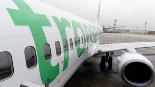 Air France s'apprête à développer sa filiale low-cost Transavia. (KENZO TRIBOUILLARD / AFP)
