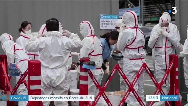 Covid-19 : la Corée du Sud lance la chasse au coronavirus