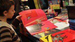 Au Salon du livre et de la presse jeunesse à Montreuil  (SIMON ISABELLE/SIPA )