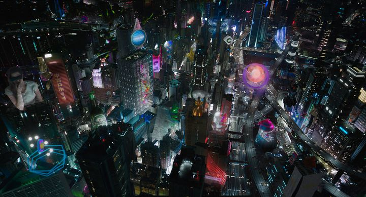 """""""Ghost in the Shell"""" de Rupert Sanders  (Paramount Pictures France)"""