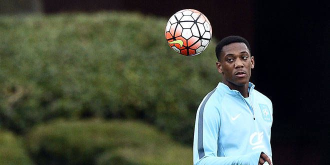Anthony Martial, le nouvel attaquant de Manchester United