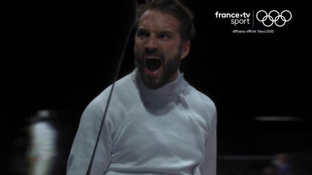 L'épéiste français réalise la sensation en disposant en quarts de finale de Sergey Bida (15-12).
